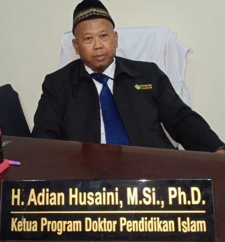 Biodata Dr. Adian Husaini